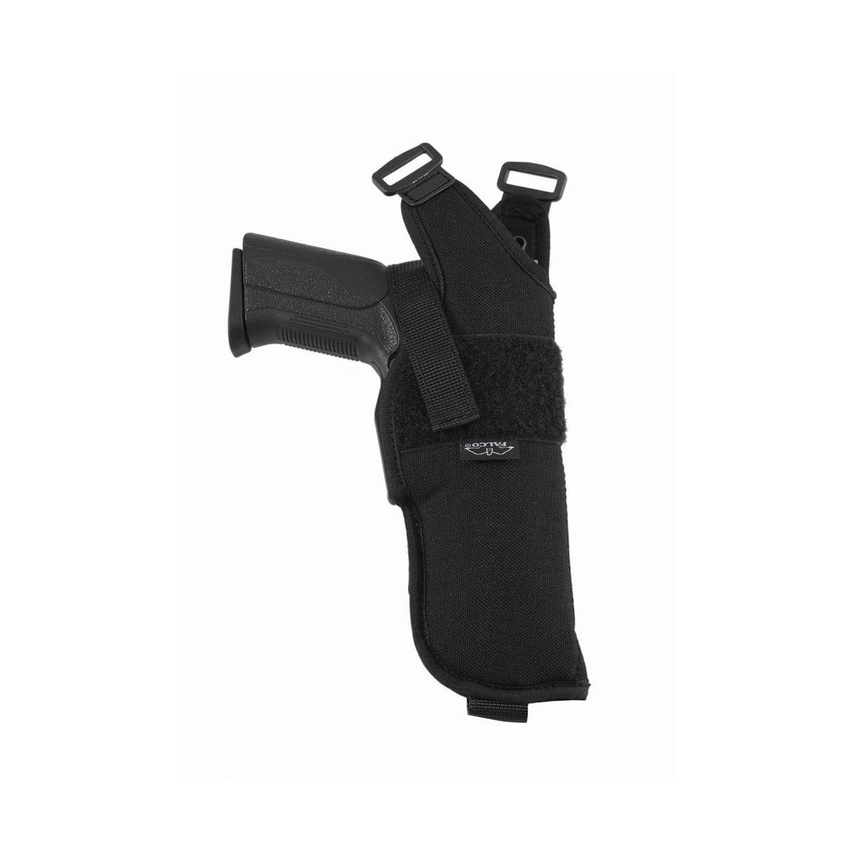 Schulterholster vertikal mit offener Mündung