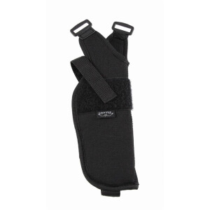 Shoulder holster vertical with open mouth