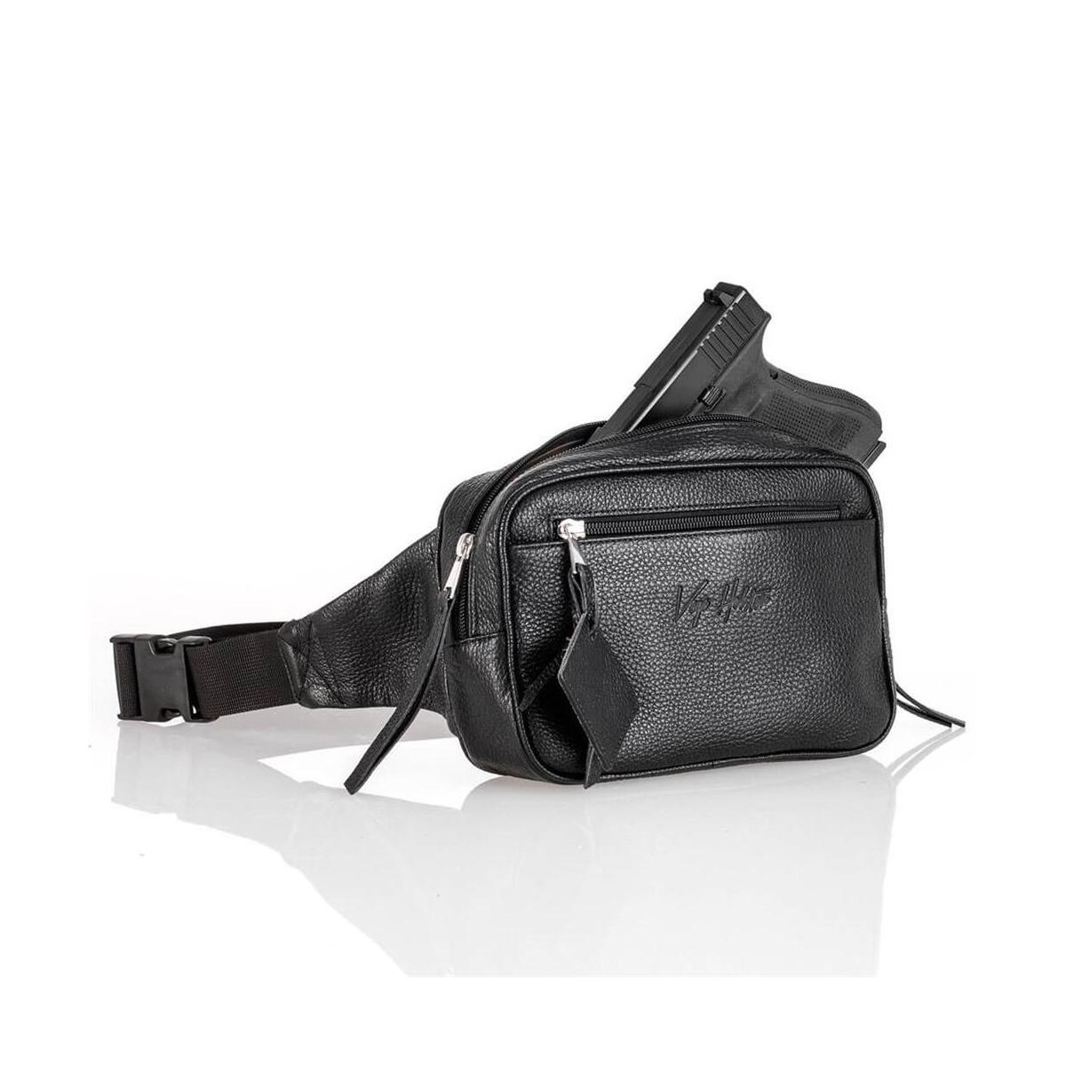 Gürteltasche Schulterholster Schulter-Tasche Reisetasche schwarz