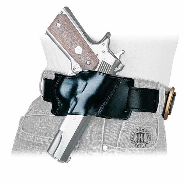 Quick draw holster YAQUI Right hand Black Colt Gov./Officer
