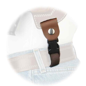 Shoulder Holster System String for MULTI VARIO holster brown