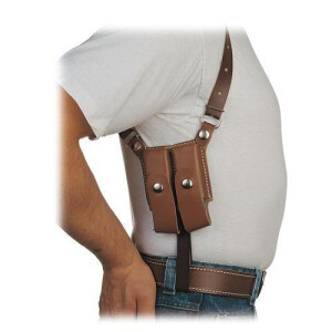 Schulterholster System TWIN Box 9 mm Para, 45 ACP single...