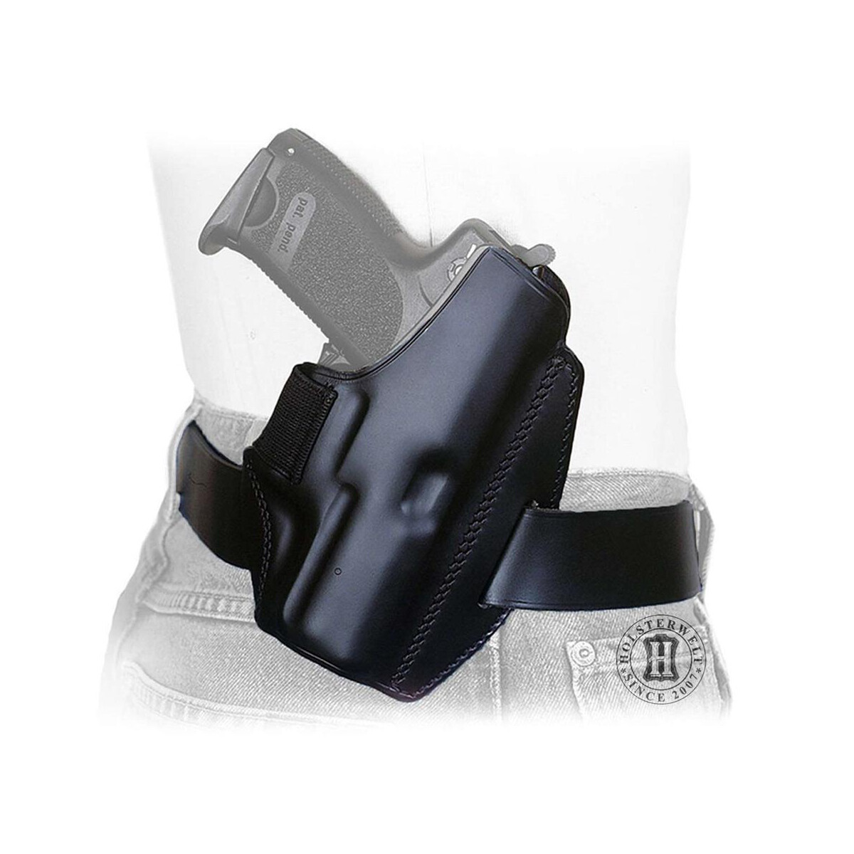 Holster QUICK DEFENSE right-Handed-black-Walther P22 - Holsterwelt I