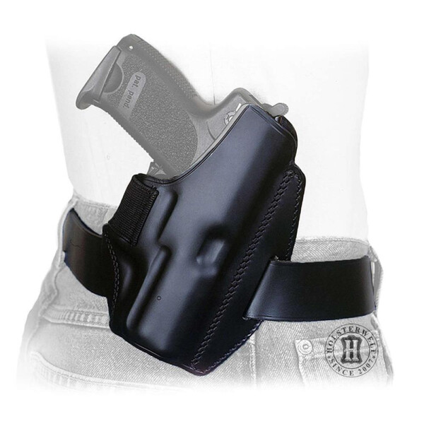 Holster QUICK DEFENSE Linkshänder-Schwarz-Glock 19 / 23 / 25 / 32 / 38