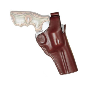 Cross Draw Leather holster OFFICER for Pistols