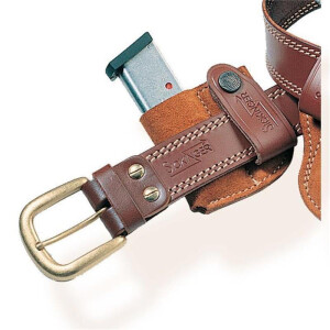 Inside Holster MAGAZIN BOX brown-Single row magazin