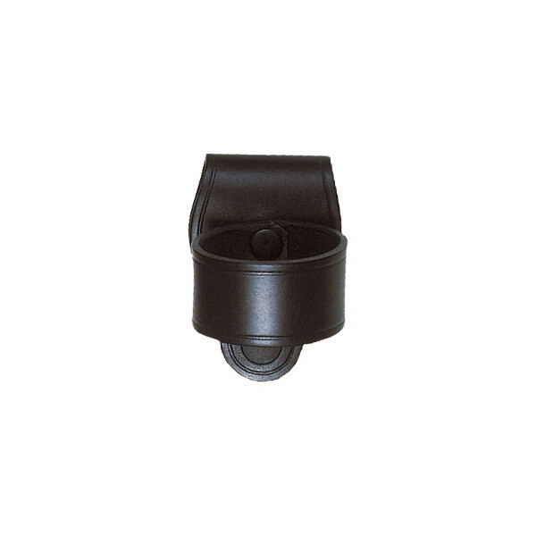 Light holder leather Schwarz