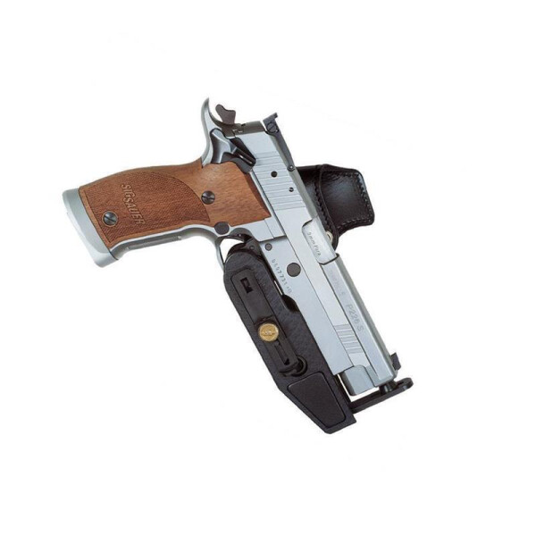 SPEED MACHINE Pistol & Revolver Holster Linkshänder-Black-  STI / SVI / SPS / 2011 ( long dustcover ) 5 - 6,5