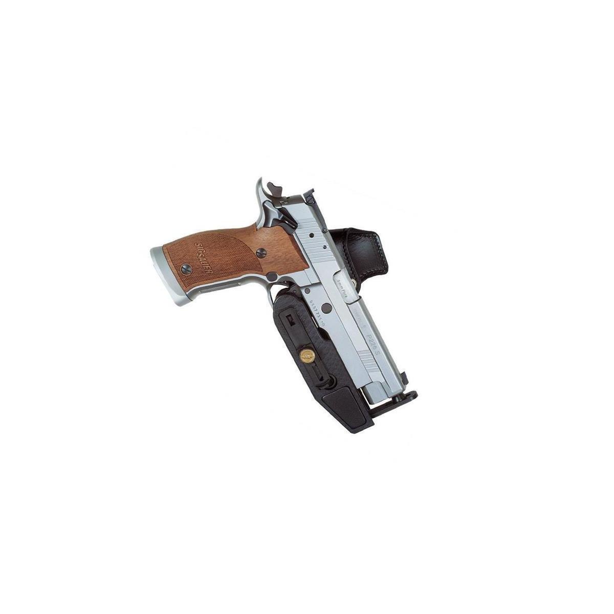 Sickinger SPEED MACHINE IPSC belt holster left-Handed-Black- CZ M75/85 /  Tanfoglio Match / Sphinx 3000 4,5