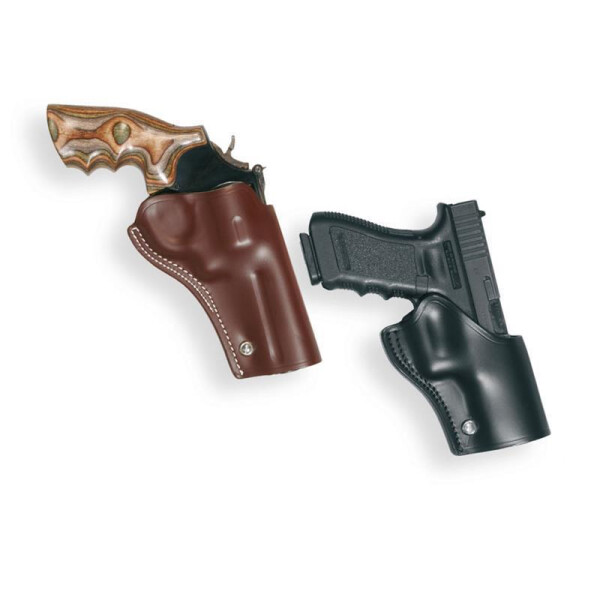 GUNFIGHTER Holster Linkshänder-Braun-Tanfoglio Match or Limited 5