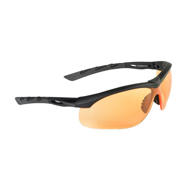 SwissEye Tactical Brille Lancer rubber black - orange